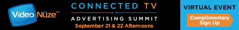 Connected TV Advertising Summit - VIRTUAL EVENT - full banner 7-7-20