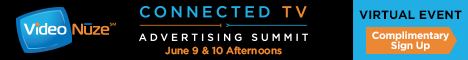 Connected TV Advertising Summit (VIrtual) full banner