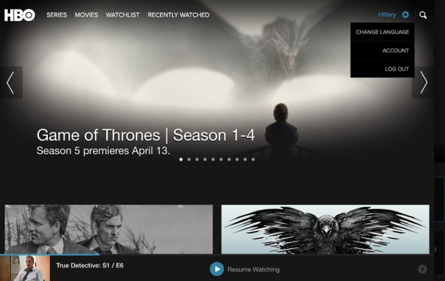hbo nordic chromecast problem